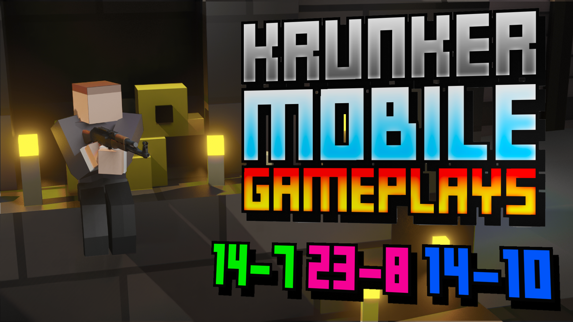 KRUNKER Mobile Gameplays (Help From Giant#7650)