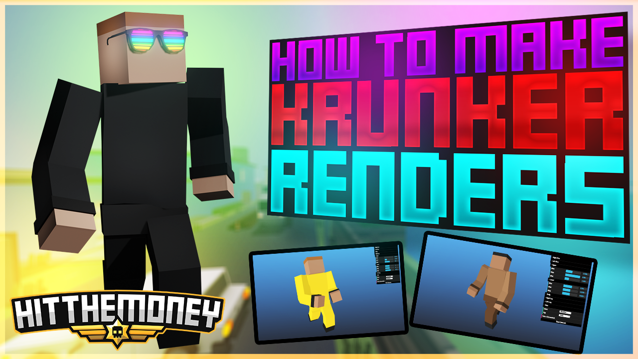 How to Make KRUNKER Renders on the web!